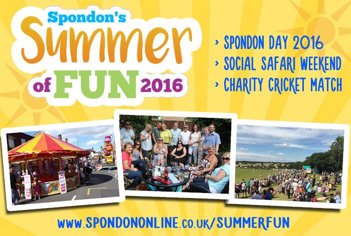 Spondon's Summer of Fun 2016