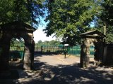 Field House Gates, Park Road