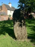 Saxon Stone at St Werburgh's Church