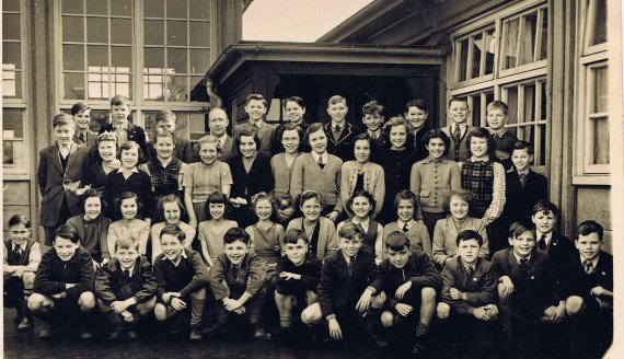 Springfield Junior School circa 1954