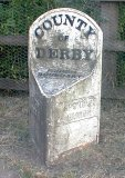 Parish boundary stone, Notts Road