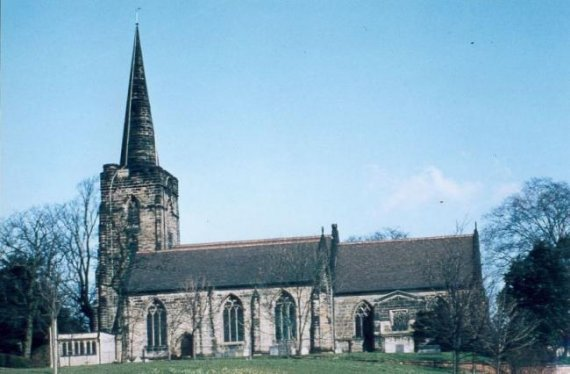 St Werburgh's Church (early 80s)