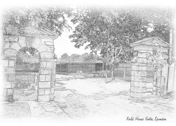 Field House Gates